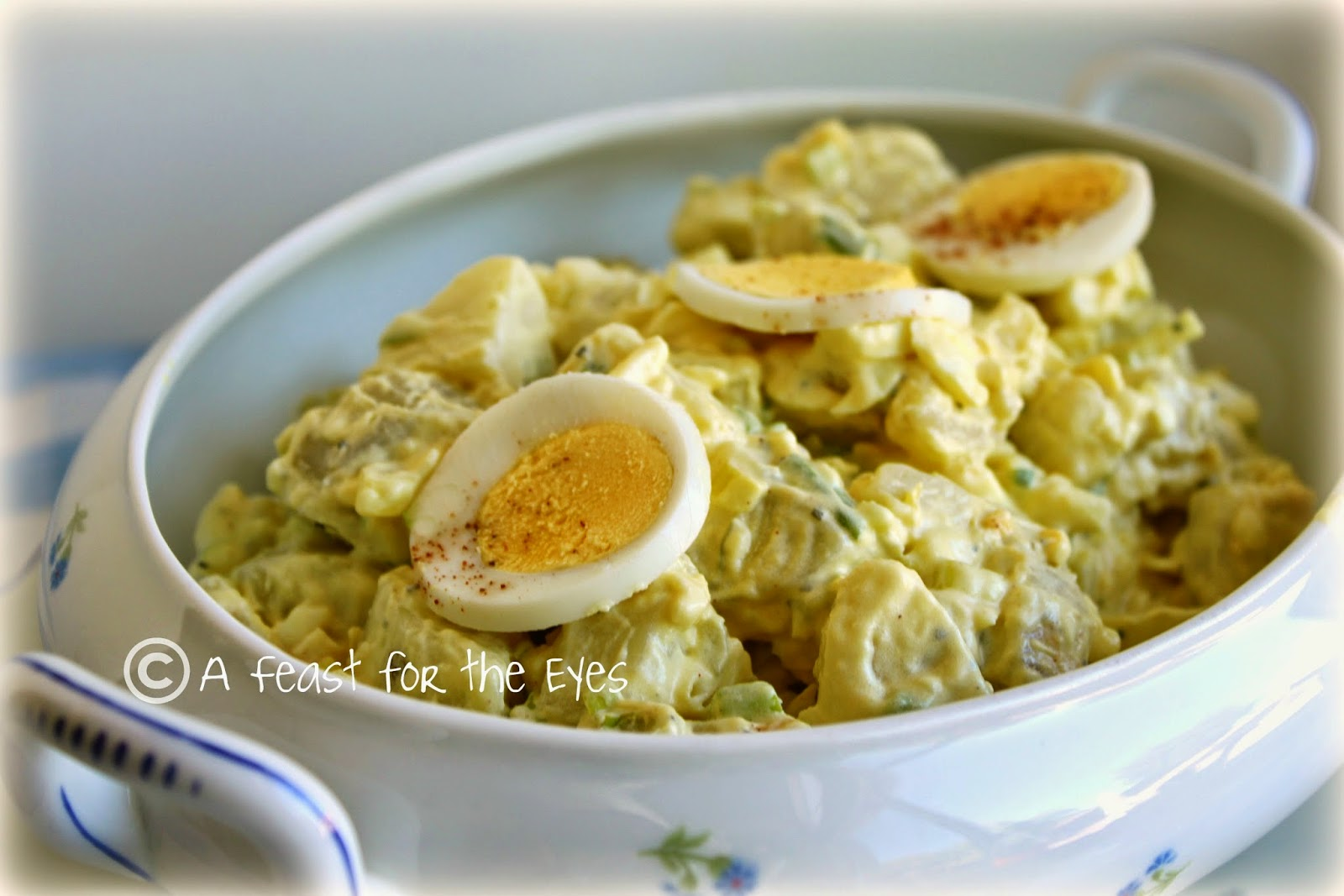 Classic American Potato Salad Adapted For Pressure Cooking