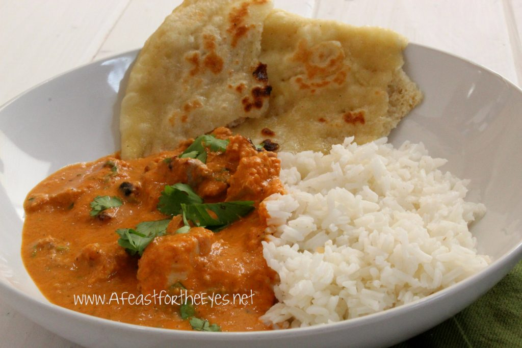 Indian Butter Chicken Murgh Makhani A Feast For The Eyes