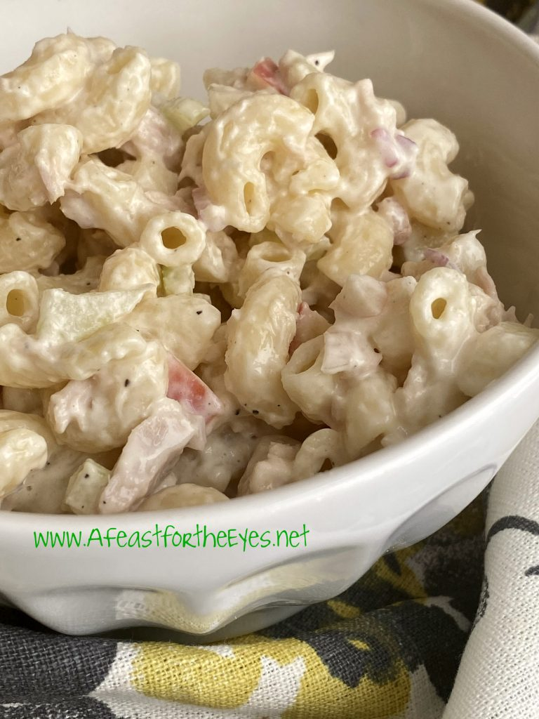 Hawaiian Macaroni Salad Recipe Apple Cider Vinegar